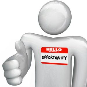 Say Hello to Opportunity