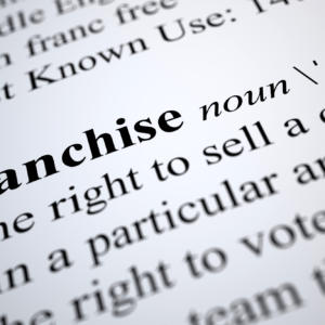 what is a franchise? franchise definition